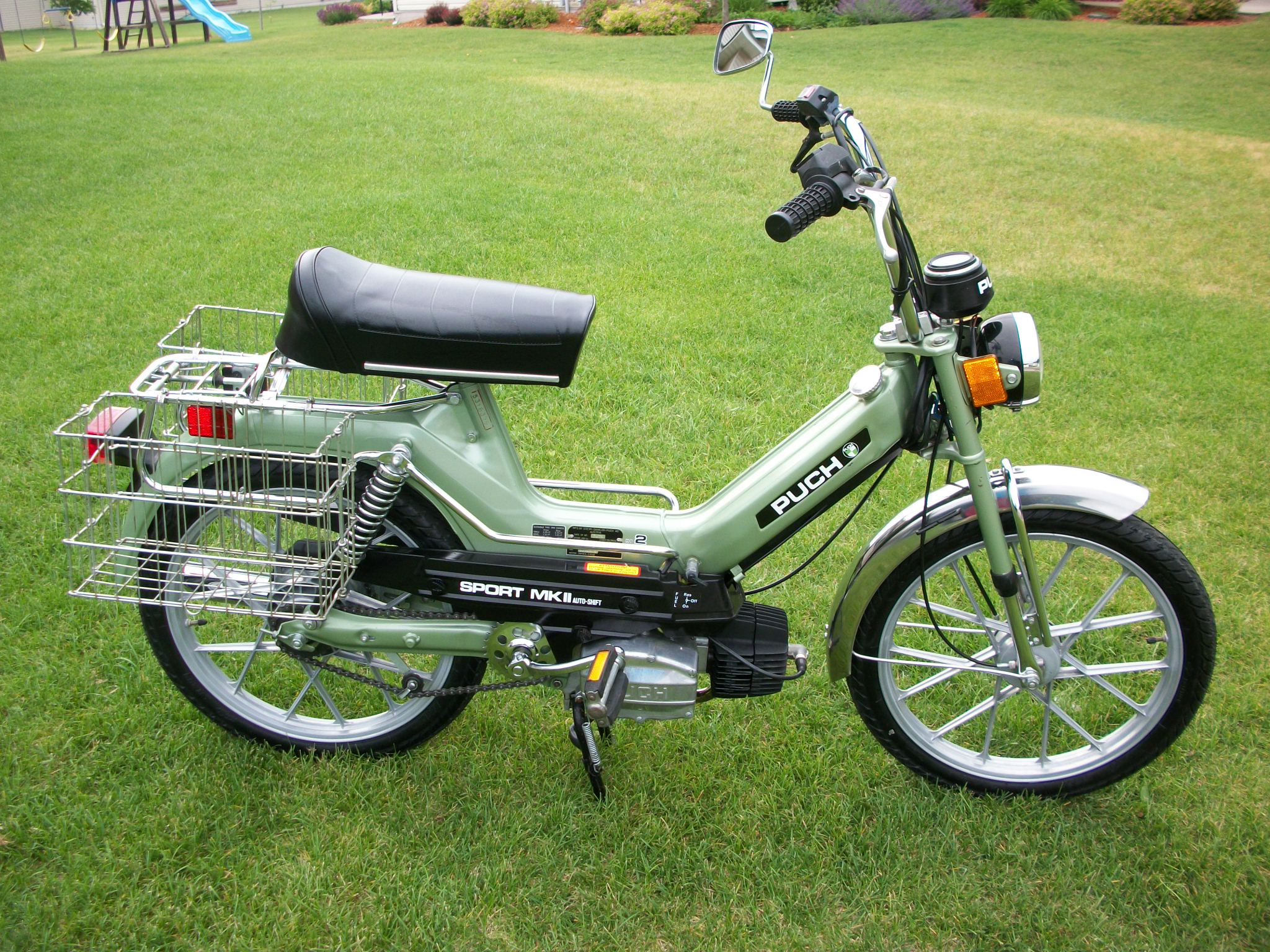reconditioned  1978 puch sport mkii  sold