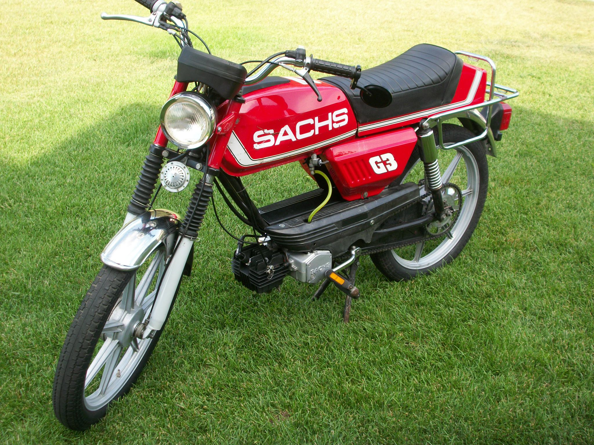 reconditioned  1979 sachs g3 prima  sold