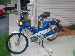 1977 Blue Puch Maxi