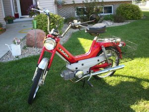 1977 Red Puch Maxi