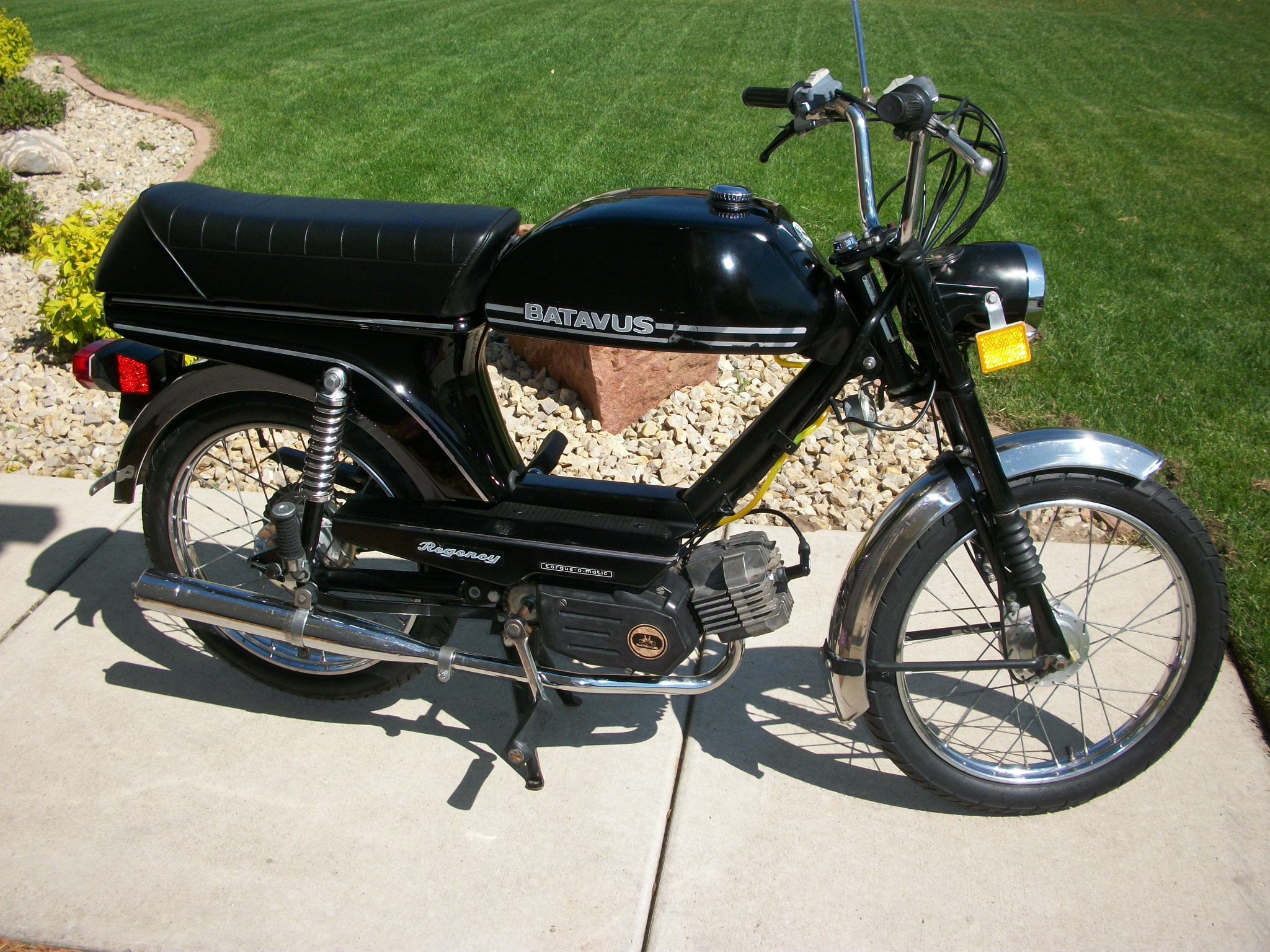 reconditioned  1978 batavus regency  sold