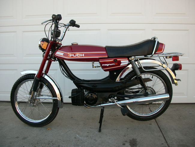 Restored  1978 Puch Magnum Xk  Sold