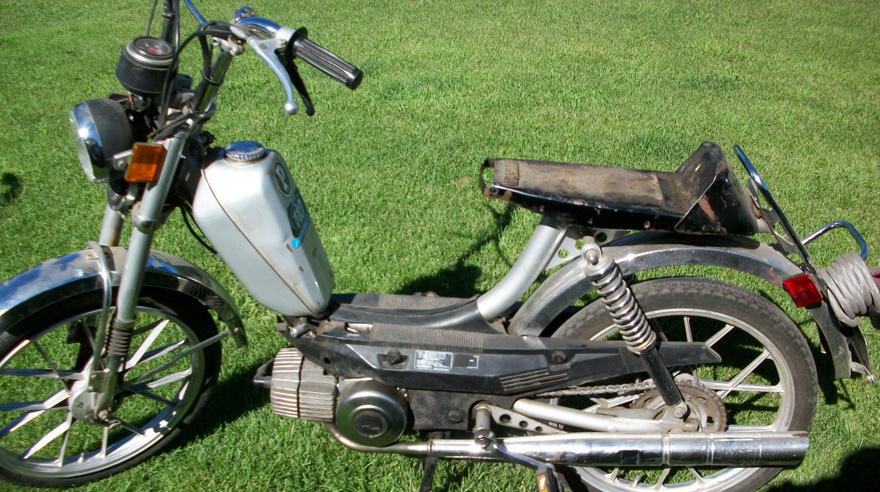Trade In Or Sell Us Your Old Broken Moped Sunday Morning