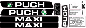 Decal 1978 Puch Maxi