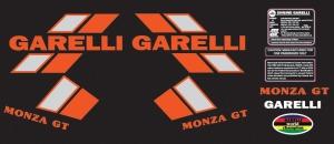 Decal 1985 Garelli Monza GT