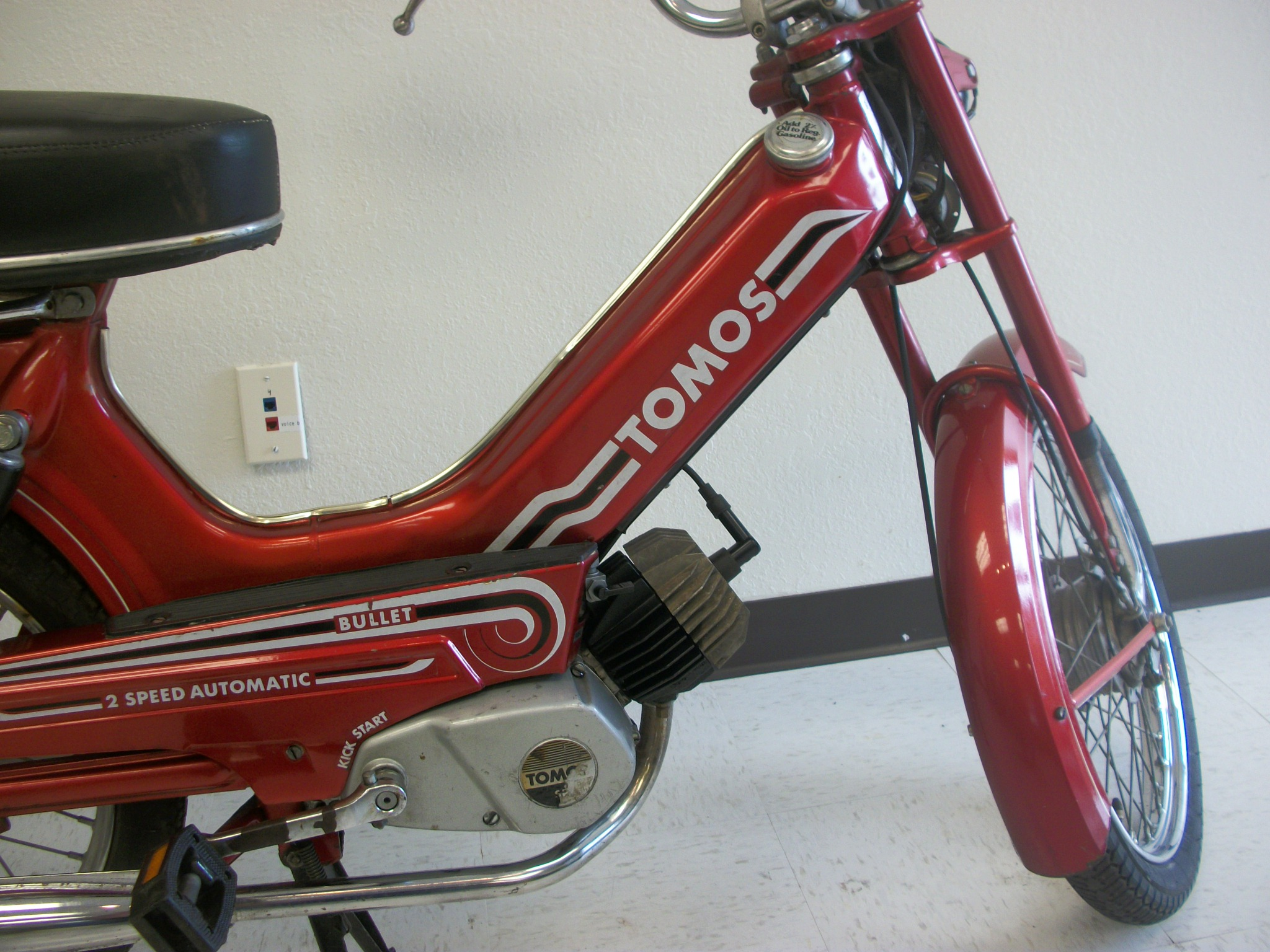 Used  1980 Red Tomos Bullet  Sold