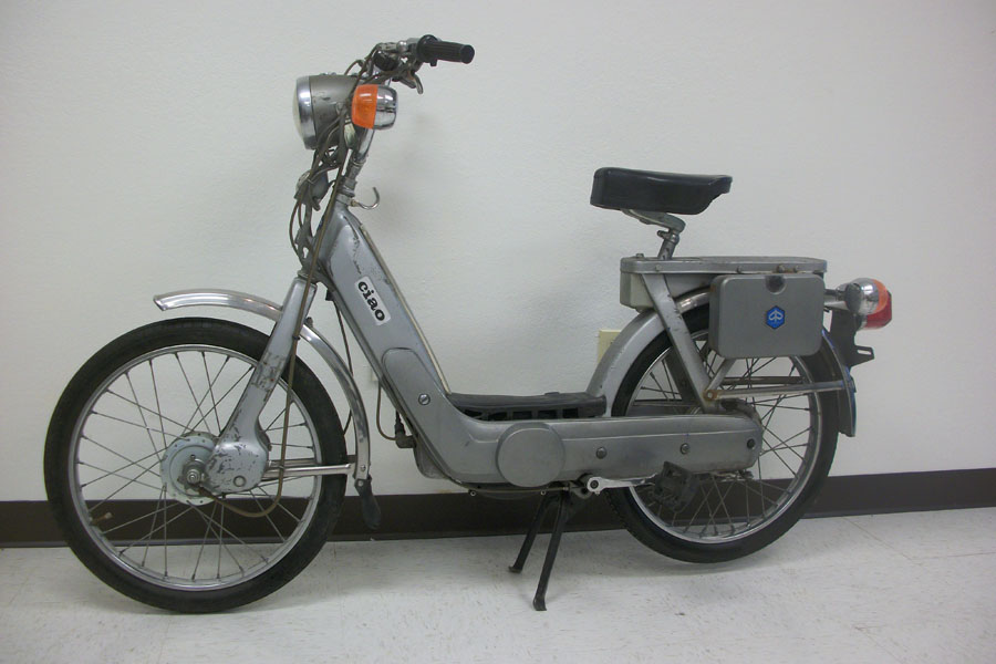 Restored Or Reconditioned 1977 Piaggio Ciao Deluxe Sold