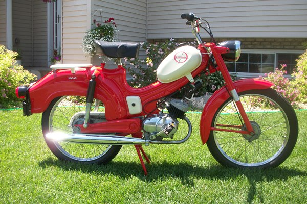 Montgomery Ward Moped History on benelli 250 wards