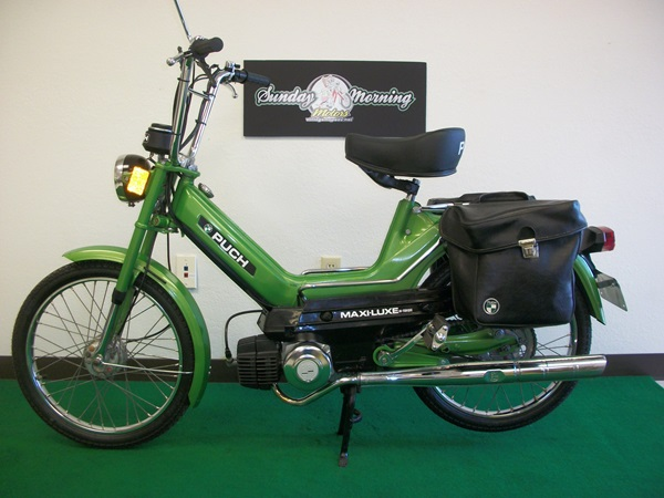 Restored  1978 Puch Maxi