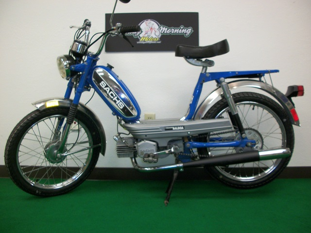 Reconditioned 1978 Blue Sachs Balboa Sold Sunday