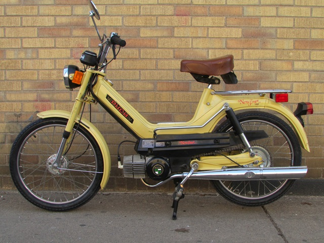 Reconditioned 1977 Puch Newport Moped Sold Sunday