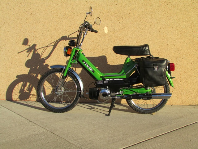 restored  1980 puch maxi sport mkii  sold