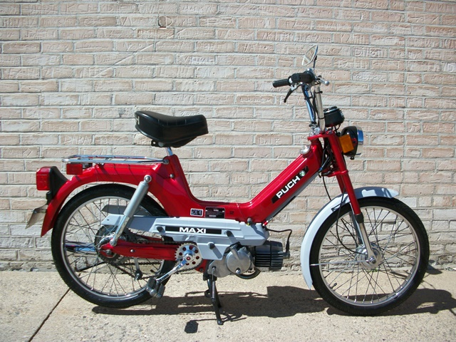 reconditioned  1978 red puch maxi  sold