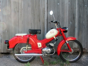 1965 Riverside Wards Moped
