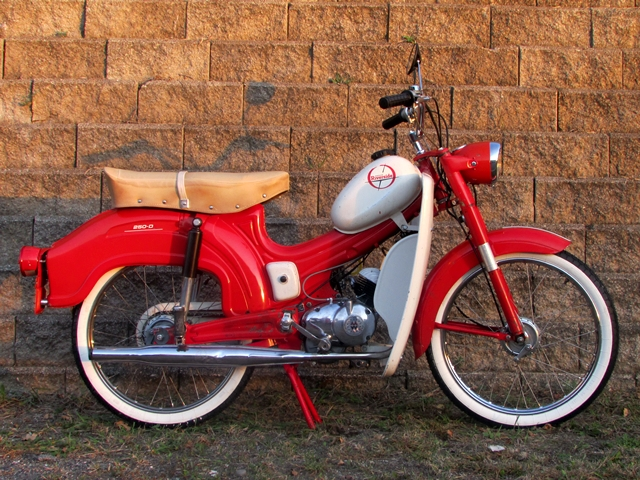 Reconditioned  1965 Wards Riverside Moped  Sold