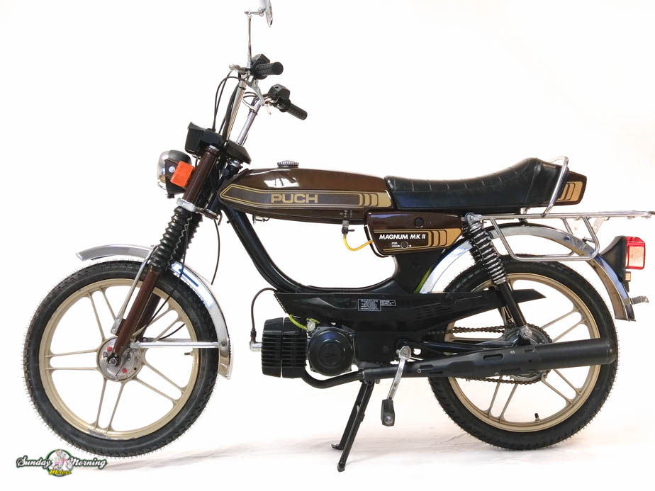 Reconditioned  1980 Puch Magnum Mkii  Sold