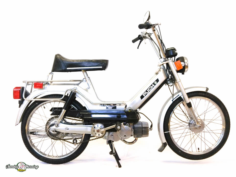 Reconditioned  1979 Silver Puch Maxi  Sold