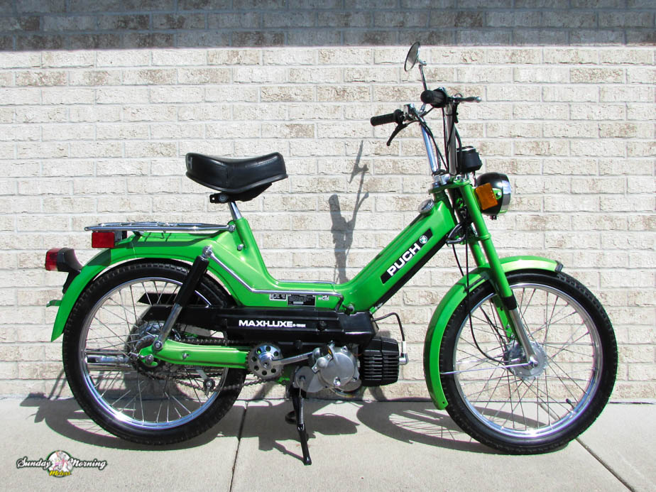 1978 green maxiluxe 10 re conditioned sunday morning motors page 2 puch maxi s wiring diagram at mifinder.co