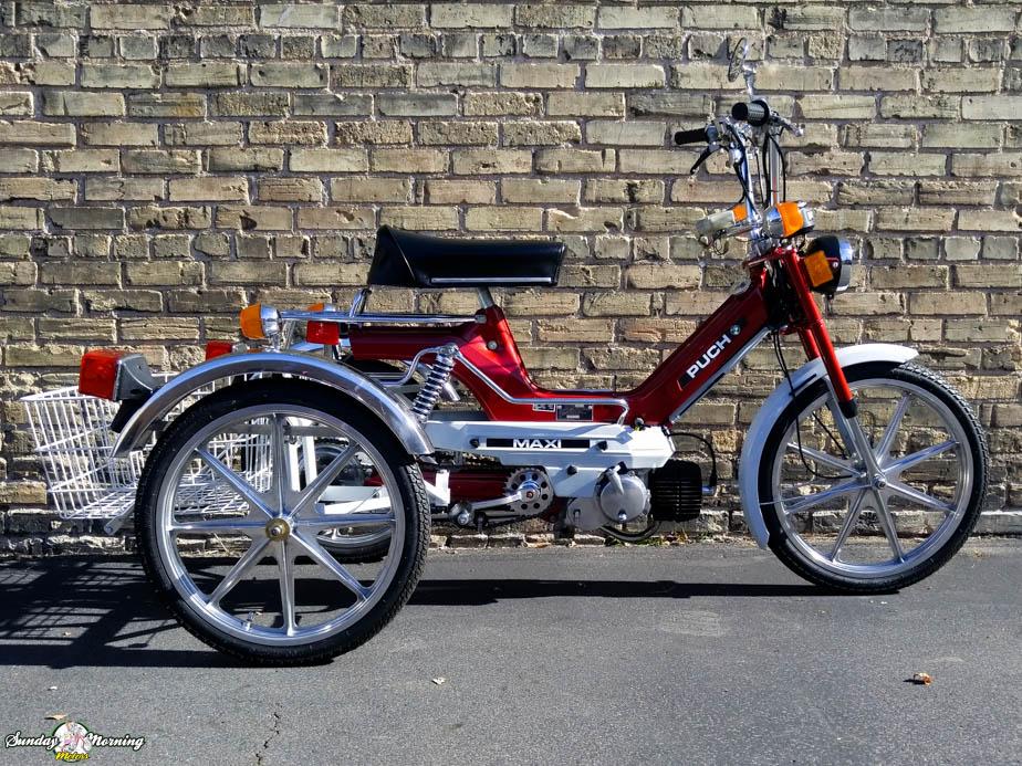 Restored* 1977 Puch TriRad ($2495 00) | Sunday Morning Motors