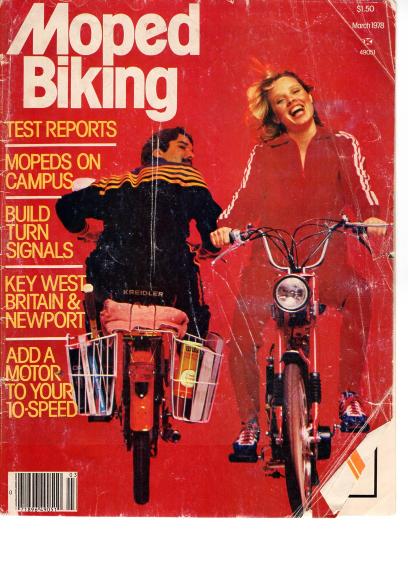 Moped Biking Magazine 1978